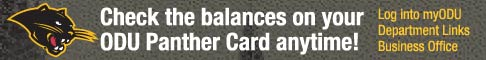Check your Panther card balance!
